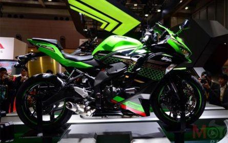 Kawasaki radi na električnom sportskom motociklu