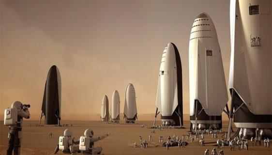 Ilustracija - Elon Mask: SpaceX mora 1.000 svemirskih brodova kako bi naselili Mars