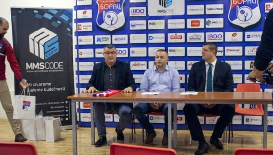 MMSCODE postao zlatni sponzor KK Borac Banjaluka