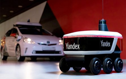 Yandex rover za dostavu