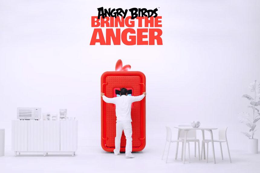 Rovio bizarna #BringTheAnger kampanja za desetogodišnjicu izlaska Angry Birdsa