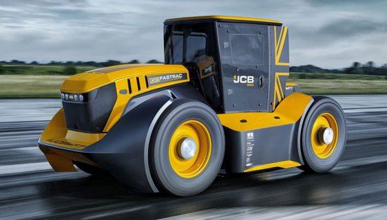 Najbrži traktor na svijetu Fastrac Two postigao nevjerovatnih 250 km/h