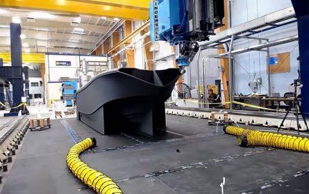 3D štampač odštampao najveći 3D brod na svijetu