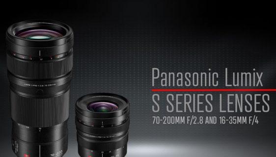 Panasonic predstavlja nove zamjenjive objektive iz serije LUMIX S