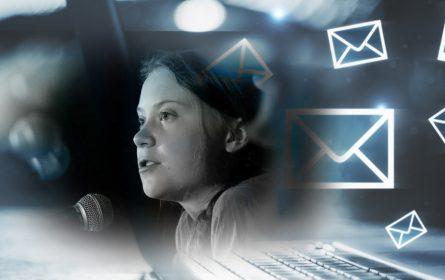 Čuvajte se elektronske pošte koju vam pošalje Greta Thunberg