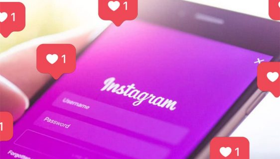 Instagram - ilustracija