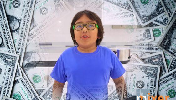 Osmogodišnji jutjuber zaradio 26 miliona dolara u 2019 i prvi je na Magazin Forbs listi