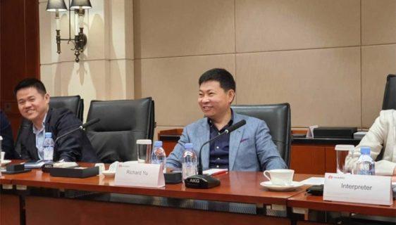 Richard Yu, šef odjela za potrošače Huaweija