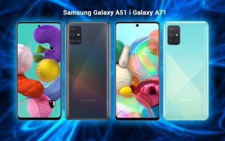 Samsung predstavio Galaxy A51 i Galaxy A71