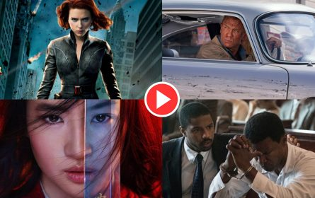 Trejleri filmova Black Widow, No Time to Die, Mulan, Just Mercy