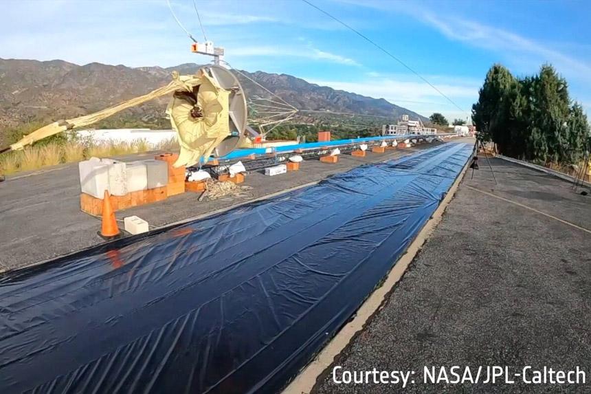 Pogledajte kako testiraju padobran za Mars