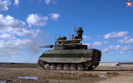 "Rusi prvi put upotrebili robotizovani kompleks ""Uran 9"" u stvarnoj borbi"