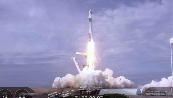 SpaceX test rakete Falcon 9