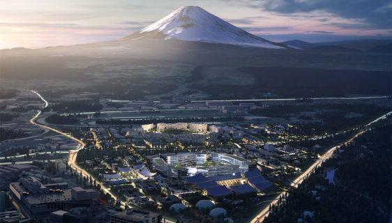 Woven City pametni grad u blizini planine Fudži (Foto: Toyota)