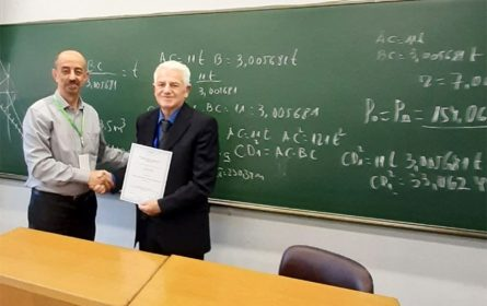 Veselin Rmuš - profesor matematike iz Berana (Foto: privatna kolekcija - Veselin Rmuš)