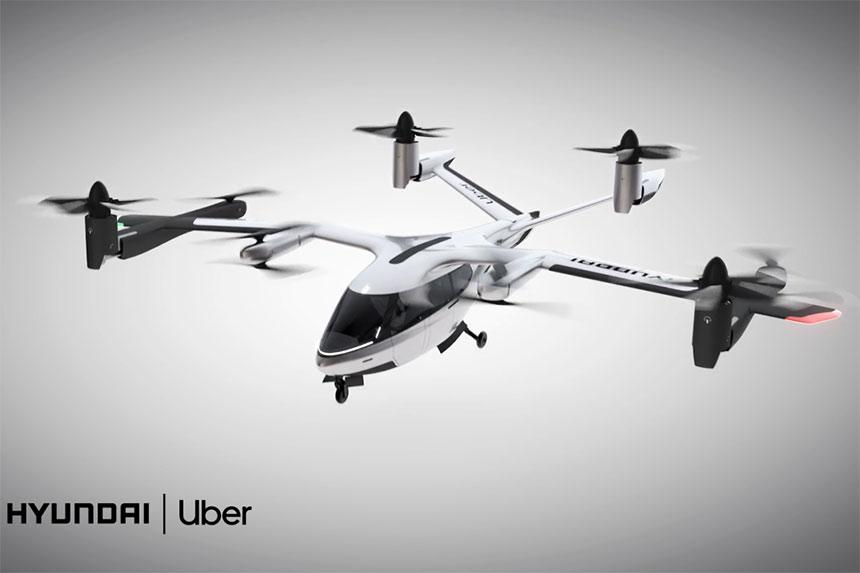 CES 2020: Uber i Hyundai najavljuju leteći taksi   VIDEO
