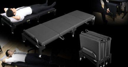 Japanski rasklopivi krevet za spavanje na poslu