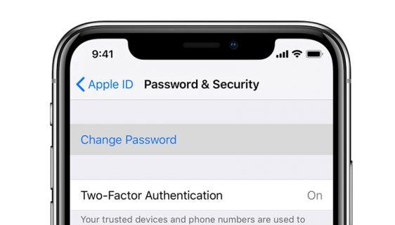 Apple lozinka (ilustracija)