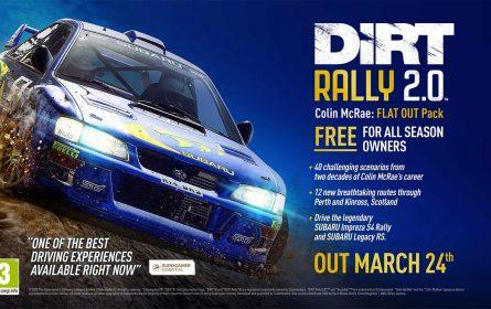 Dirt Rally 2.0 dobija Colin McRae DLC paket