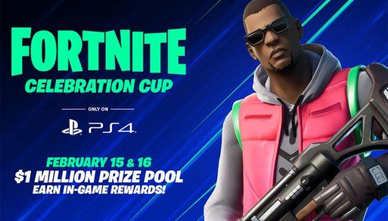 Učestvujte u PS4 Fortnite Celebration Cup takmičenju: Nagradni fond milion dolara