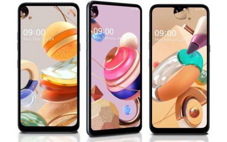 LG najavio tri nova pametna telefona serije K