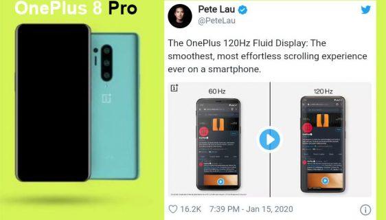 OnePlus 8 Pro dolazi nam na proljeće sa 120Hz osvežavanjem ekrana
