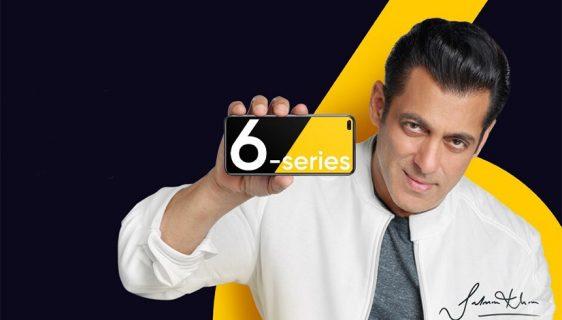Realme 6 serija telefona - Salman Khan