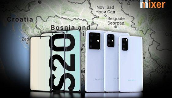 Cijene i datum izlaska Samsung Galaxy S20 serije u BiH, Srbiji i Hrvatskoj