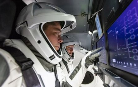 SpaceX Crew Dragon ljudska posada (Foto: NASA)