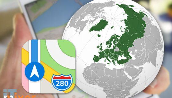 Google dobija opasnu konkurenciju - Apple maps i u Evropi!