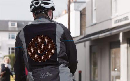 Jakna za bicikliste sa emotikonima