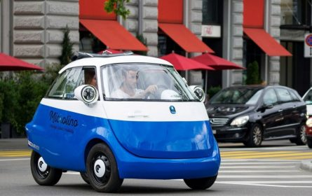 Microlino - malo električno vozilo stvoreno za gradsku vožnju