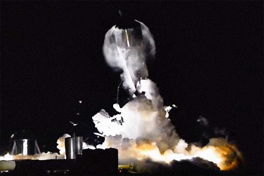 Starship Rakete
