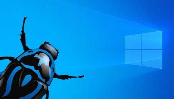 Windows 10 greška - bug - ilustracija