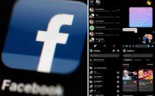 """Fejsbuk u """"dark mode"""" već dostupan korisnicima"""