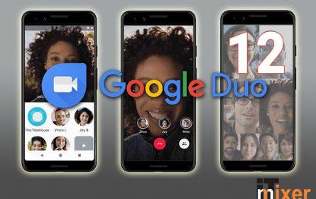 Google Duo podržava do 12 osoba u grupnim pozivima