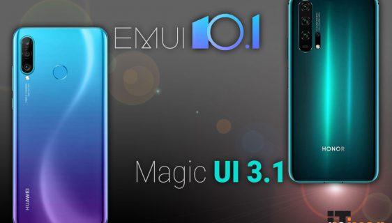 Pogledajte nove mogućnosti EMUI 10.1/Magic UI 3.1 i na koje uređaje stiže