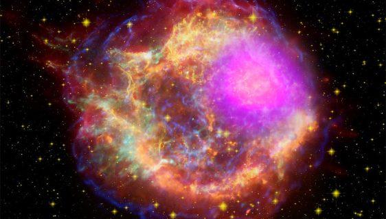 Supernova - ilustracija