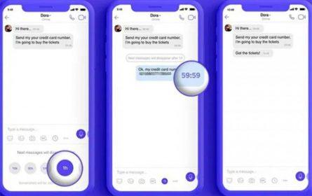 Viber nestajuće poruke