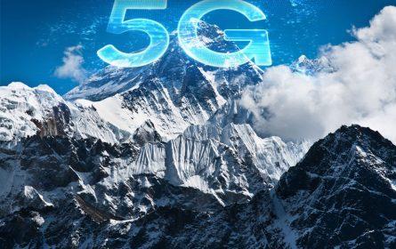 Potpuno pokriven Mount Everest 5G signalom