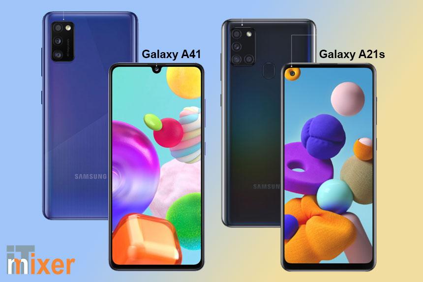 Samsung Galaxy A21s i Samsung Galaxy A41 - sjajan dizajn i odlična funkcionalnost