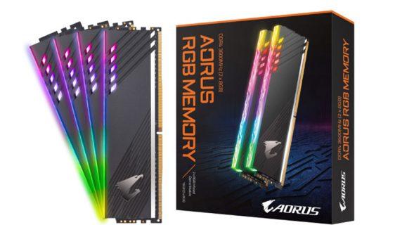 Gigabyte Aorus 3600MHz DDR4 RAM