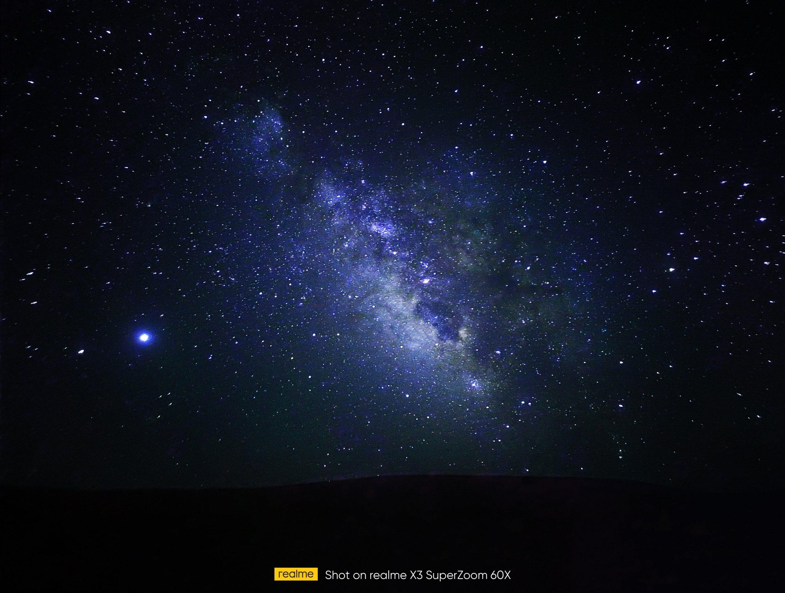 Kamera na Realme X3 SuperZoom će imati zumiranje od 60 puta - fotografija Mliječnog puta