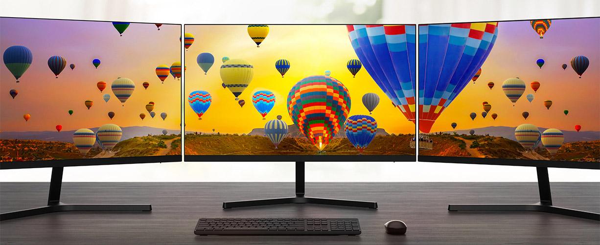 Redmi Display 1A - monitor skoro bez ivica idealan za spajanje dva ili više monitora