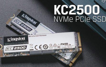 Kingston lansirao novi KC2500 NVMe PCIe SSD