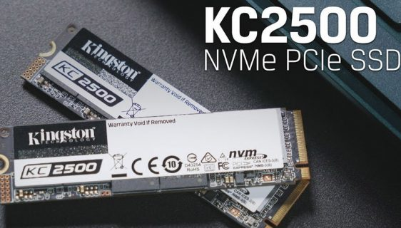 Kingston lansirao novi KC2500 NVMe PCIe SSD