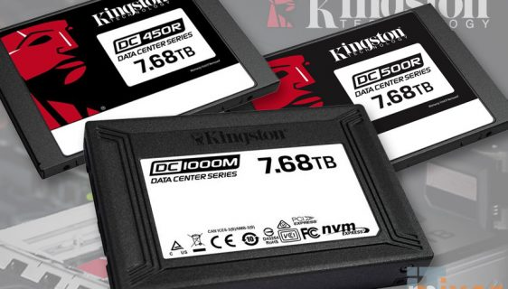 Kingston predstavio tri modela SATA SSD diskova za data centre