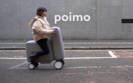 Poimo - električni skuter na naduvavanje