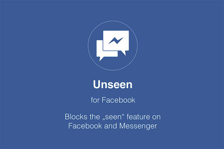 """Kako sakriti """"seen"""" na Messenger-u - Unseen for Facebook"""