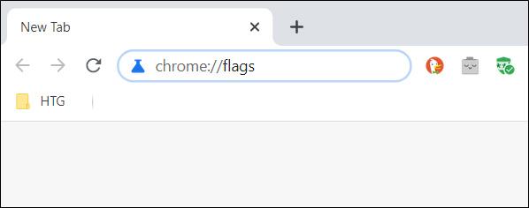 U adress bar upišite chrome flags